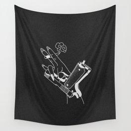 Kill ´em (black) Wall Tapestry