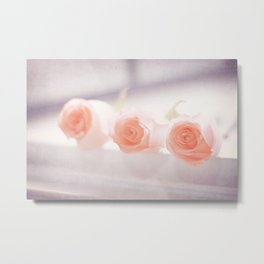Roses by the letch Metal Print