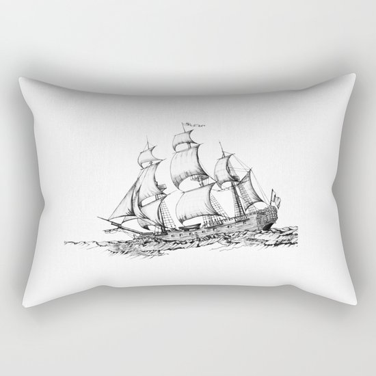 sailing ship . Home decor Graphicdesign by vickonskey