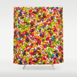 Gourmet Jelly Bean Pattern  Shower Curtain