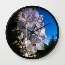 Orchid 1 Wall Clock