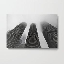 Foggy Chicago Morning 006 Metal Print