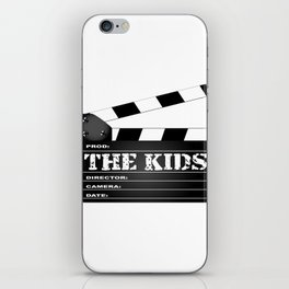 The Kids Clapperboard iPhone Skin