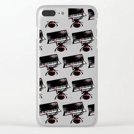 Arañas Electro Techno House Sintetizadores Clear iPhone Case