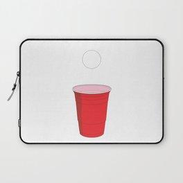 Beer Pong Illustration Laptop Sleeve