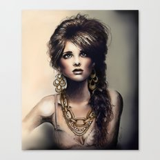 Haute Jewel Canvas Print