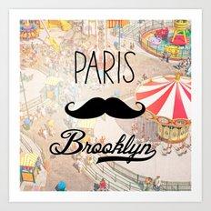 Paris Brooklyn ii Art Print