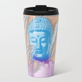 Glitch Buddha Travel Mug