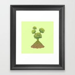 Healthy Eruption Framed Art Print