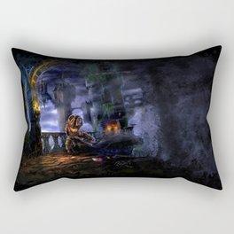 Castlevania: Vampire Variations- Bridge Rectangular Pillow