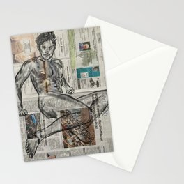 Reclining Nude 1 Stationery Cards