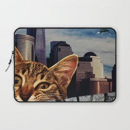 Cat Eating Laptop Sleeve