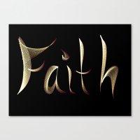 faith Canvas Prints featuring Faith by Tina Vaughn