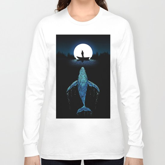 The Whale Long Sleeve T-shirt