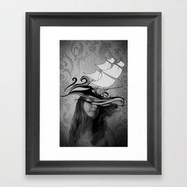If I were a ship Framed Art Print