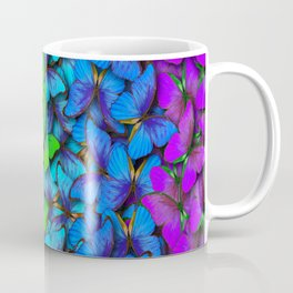 Colorful Butterflies Coffee Mug