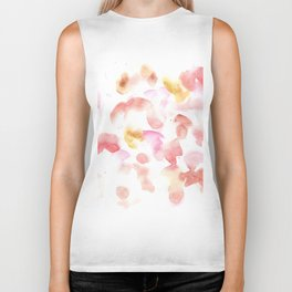 170722 Colour Loving 7 |Modern Watercolor Art | Abstract Watercolors Biker Tank