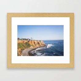Point Vicente Lighthouse (color version) Framed Art Print