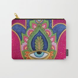 Fatima's hand / Hamsa Carry-All Pouch