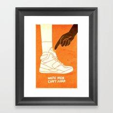 White Men Can't Jump Framed Art Print