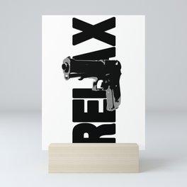 RELAX. Mini Art Print