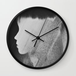 Faceless Charcoal Wall Clock