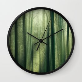 Forest of Surrealism II Wall Clock