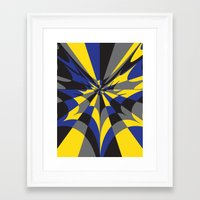 gotham Framed Art Prints featuring Gotham by Ashley
