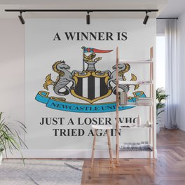 NEWCASTLE UNITED WIN OR LOSE Wall Mural