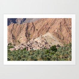 Abandoned Village - Oman Art Print