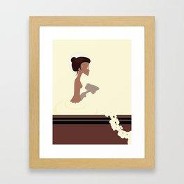 le bain Framed Art Print
