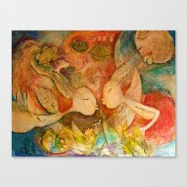 EL BESO Canvas Print