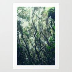 entranced Art Print