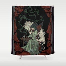 Tragically Ever After: Mina Shower Curtain