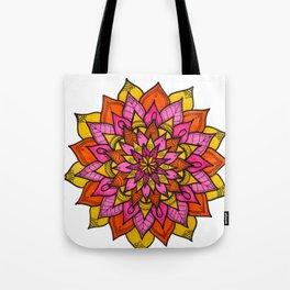 Mandala hojas Tote Bag
