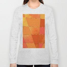 Orange Layers Long Sleeve T-shirt