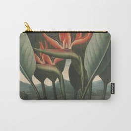 Henderson, Peter C. (d.1829) - The Temple of Flora 1807 - The Queen (Bird of Paradise Flower) Carry-All Pouch