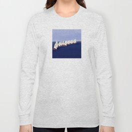 In May, May's Regatta - shoes stories Long Sleeve T-shirt