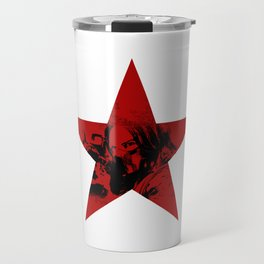 Winter Soldier Star Travel Mug
