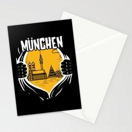 Munich Heart Stationery Cards