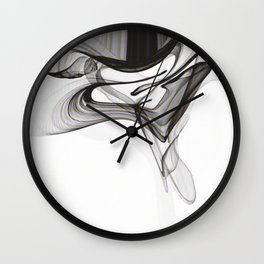 Smoky Noir Wall Clock