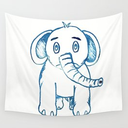 Little Elephant Wall Tapestry