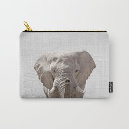 Elephant - Colorful Carry-All Pouch