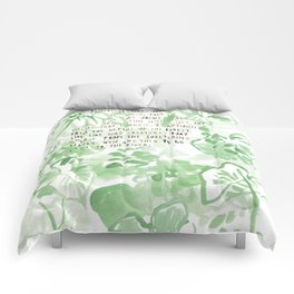 """""""Conquest of the Useless"""" by Werner Herzog Print (v. 2) Comforters"""