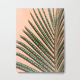 Watercolor tropical leaf III Metal Print