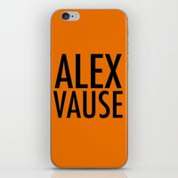 alex vause iPhone & iPod Skins featuring Alex Vause (2) by Zharaoh