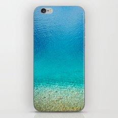 turquoise II. iPhone & iPod Skin