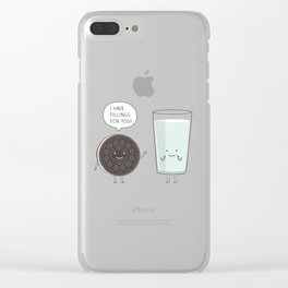 I have fillings for you! Clear iPhone Case