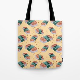 Spam Musubi Pattern Tote Bag