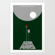 A New Hope IV Art Print